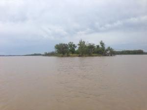 Río Paraná, Arroyo Seco, Rosario, Argentina.
