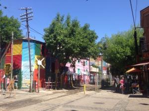 Caminito, La Boca, Buenos Aires, Argentina.